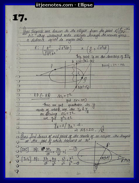 ellipse notes7