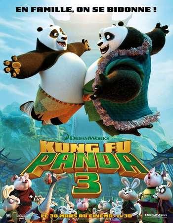 Poster Of Kung Fu Panda 3 2016 English 300MB HCHDRip 480p Free Download Watch Online