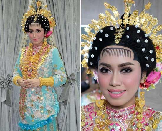 Foto Riasan Pernikahan Dokter Gigi Cantik Ini Jadi Viral