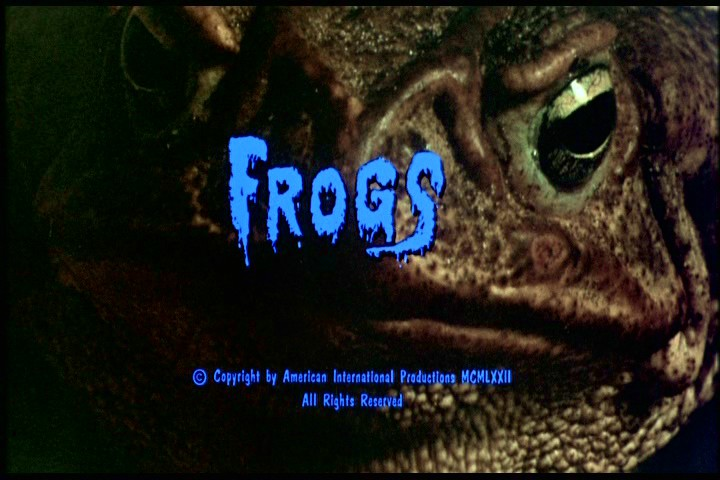 Groovy Doom: Frogs (1972): Death by Ridiculous