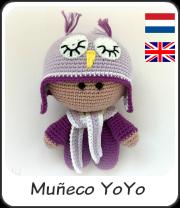 Muñequito yoyo buho