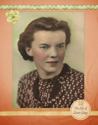 Heritage Scrapbook about Grandmother
