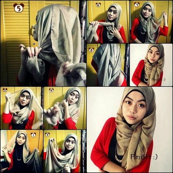 Un Hijab apparence fraîche qui ajoute beauté à toutes les femmes  musulmanes. Parfait pour les femmes à tout âge, facile et élégant. 56c3b36dbab