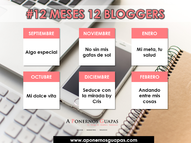 #12meses12bloggers Oriflame A Ponernos Guapas