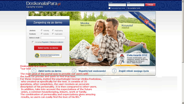Mezczyzna idealny online dating