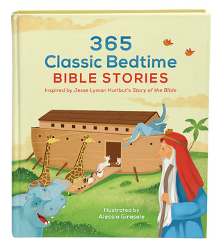 Heidi Reads... 365 Classic Bedtime Bible Stories: Inspired by Jesse Lyman Hurlbut's Story of the Bible by Jesse Lyman Hurlbut, Daniel Partner (Editor), Alessia Girasole (Illustrations)