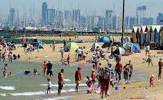 Australia measures another heatwave