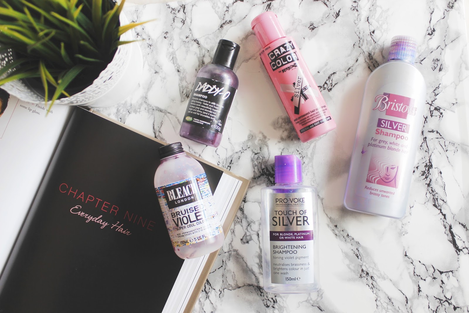 See The Stars - EMPTIES #1: GREY/PURPLE HAIR PRODUCTS.