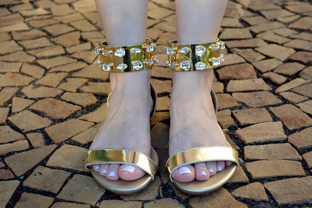 Bolsa Dourada Durante O Dia : Camila andrade ? poss?vel usar brilho durante o dia