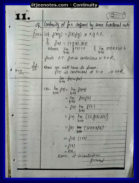 continuity notes2