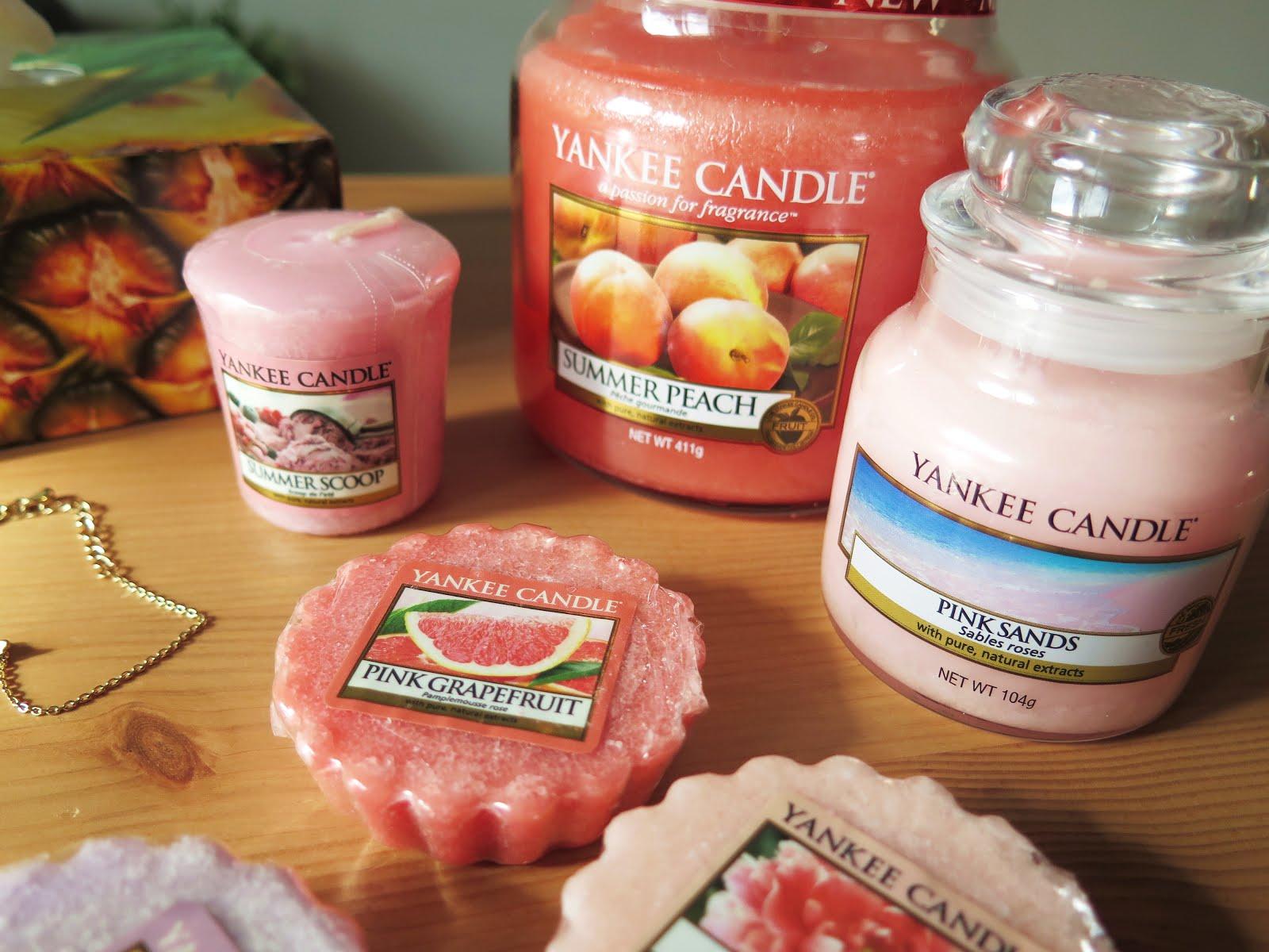 Letnie zapachy od Yankee Candle
