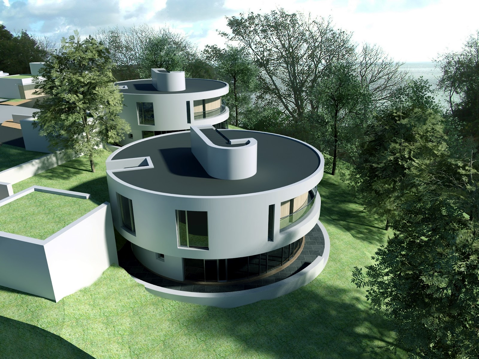 New home designs latest.: Modern unique homes designs.