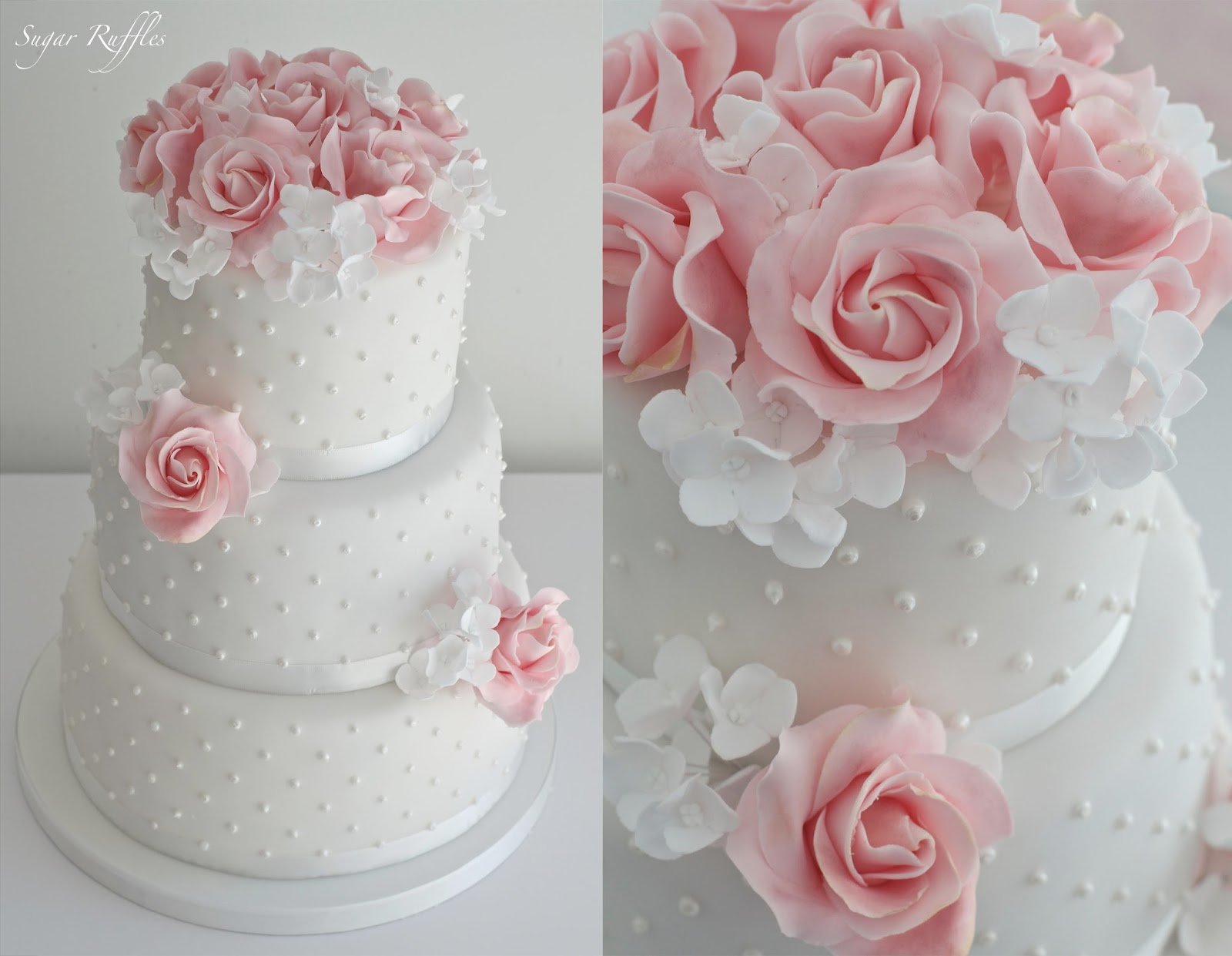 Sugar Flowers And Ruffles