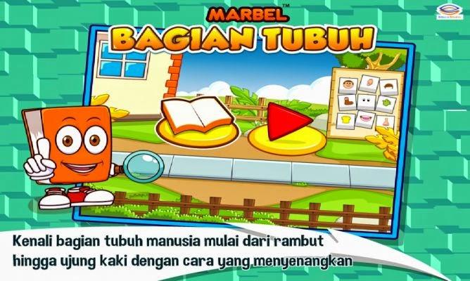 Marbel Bagian Tubuh: Game yang Cocok Untuk Anak-anak