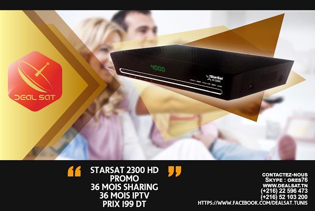 tuto comment installer software -liste des chaines starsat 2300 HD-dealsat.tn