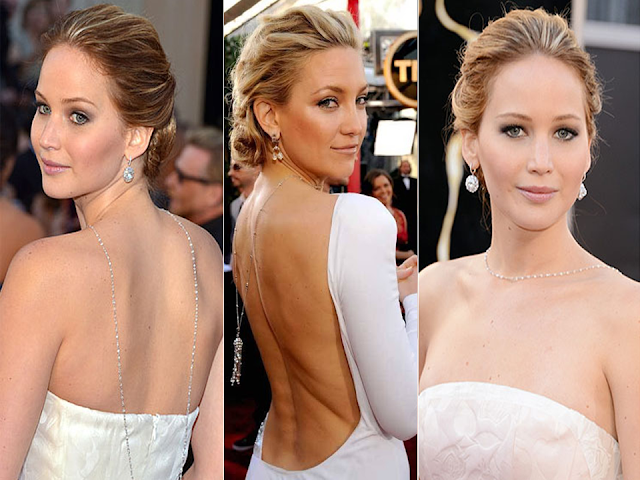 colar nas costas jennifer lawrence kate hudson