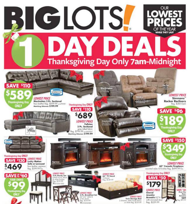 Big Lots Black Friday 2017 Ad