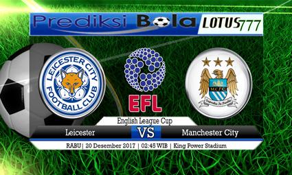 PREDIKSI SKOR Leicester vs Manchester City 20 Desember 2017