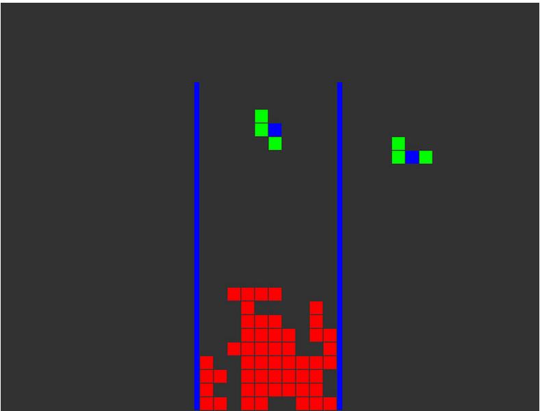 tetris game in C++