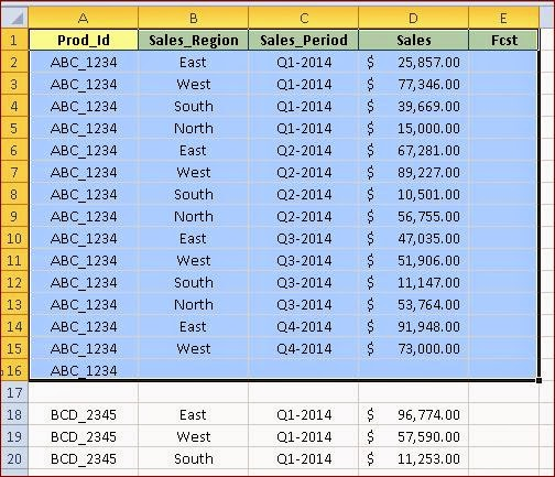 How to Find Current Region, Used Range, Last Row and Last