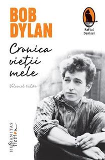 Coperta cartii Cronica vietii mele Bob Dylan disponibil aici