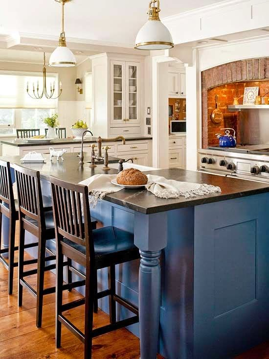 Famous Kitchen Island Different Color Than Cabinets Rj59 Roccommunity