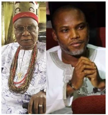 'FG Wants To Kill My Son' – Father Of IPOB Leader, Nnamdi Kanu Cries Out