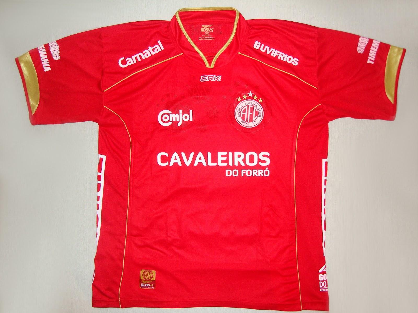 América Futebol Clube (RN) - Show de Camisas c46f65c2b92