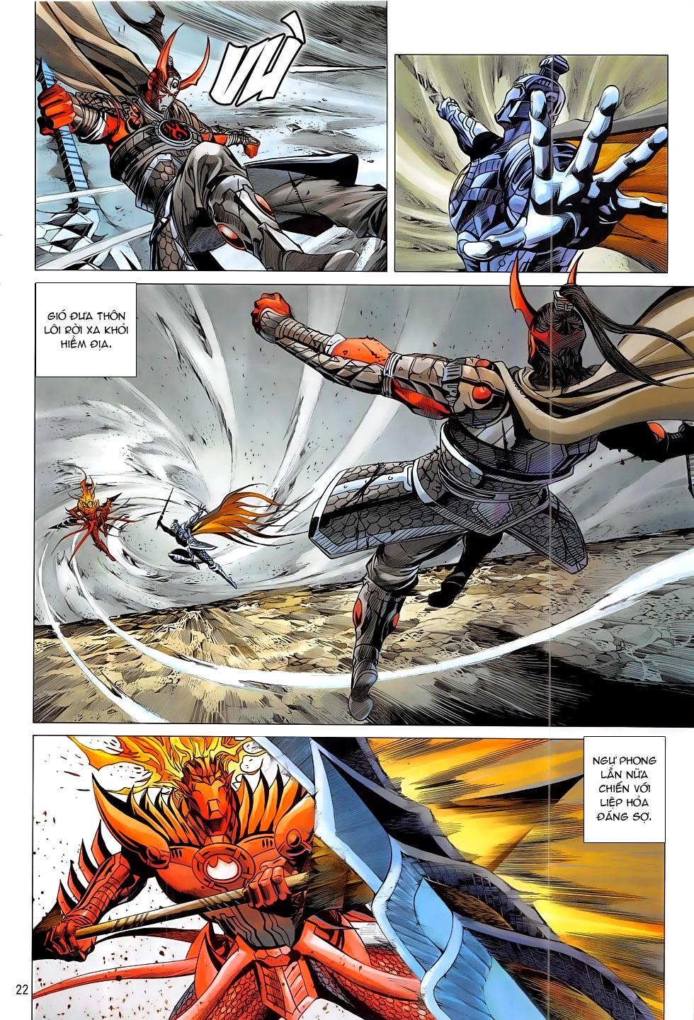 Chiến Phổ chap 19 - Trang 22