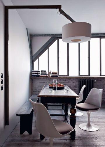 atelier de tapissier devenu loft mademoiselle i do. Black Bedroom Furniture Sets. Home Design Ideas