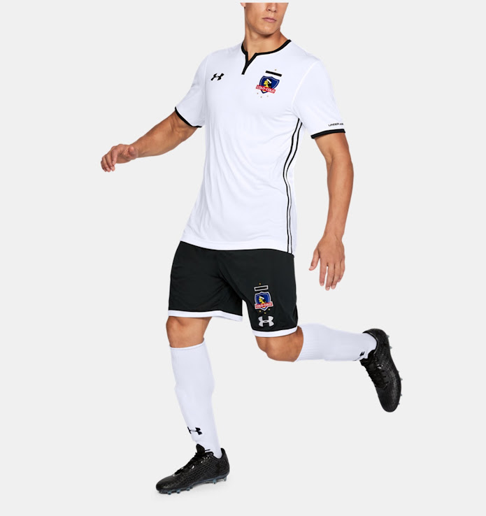 free shipping d3fb2 6c74b Under Armour Colo-Colo 2018 Home & Away Kits Released ...