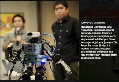 Robot untuk Membantu Pendidikan
