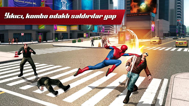 the amazing spider-man 2 hile apk indir