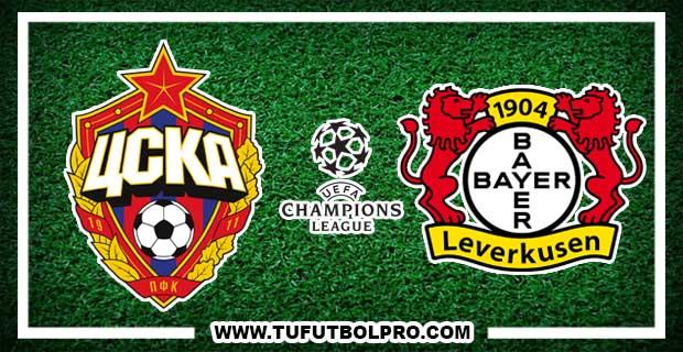 Ver CSKA Moscú vs Bayer Leverkusen EN VIVO Por Internet Hoy 22 de Noviembre 2016