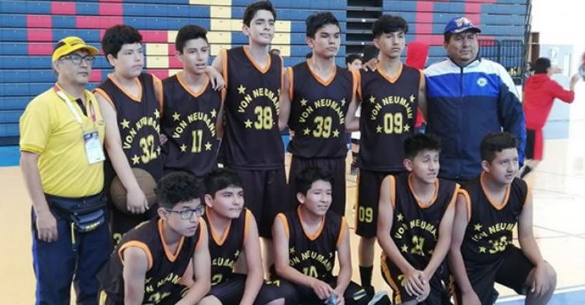 MINEDU: Lima y Huánuco definen mañana título escolar de baloncesto, categoría B - www.minedu.gob.pe