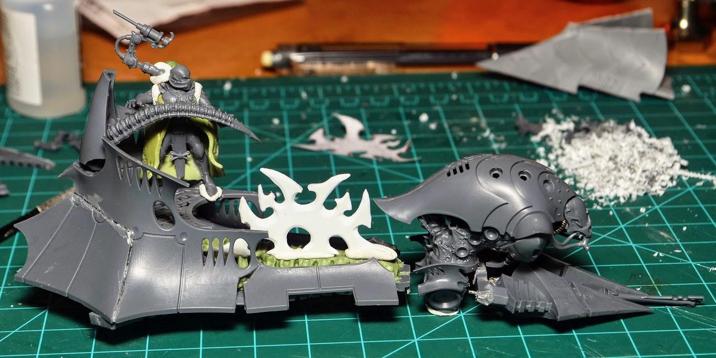 Dark Eldar Warhammer 40K Bits Drukhari Talos Twin Tail Splinter Cannons