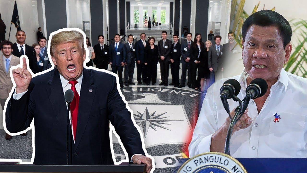 Amerika Nagsalita Na! Cia Destabilization Plot Kontra Sa Duterte Administration