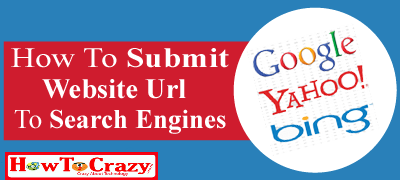 Submit your url to search engines