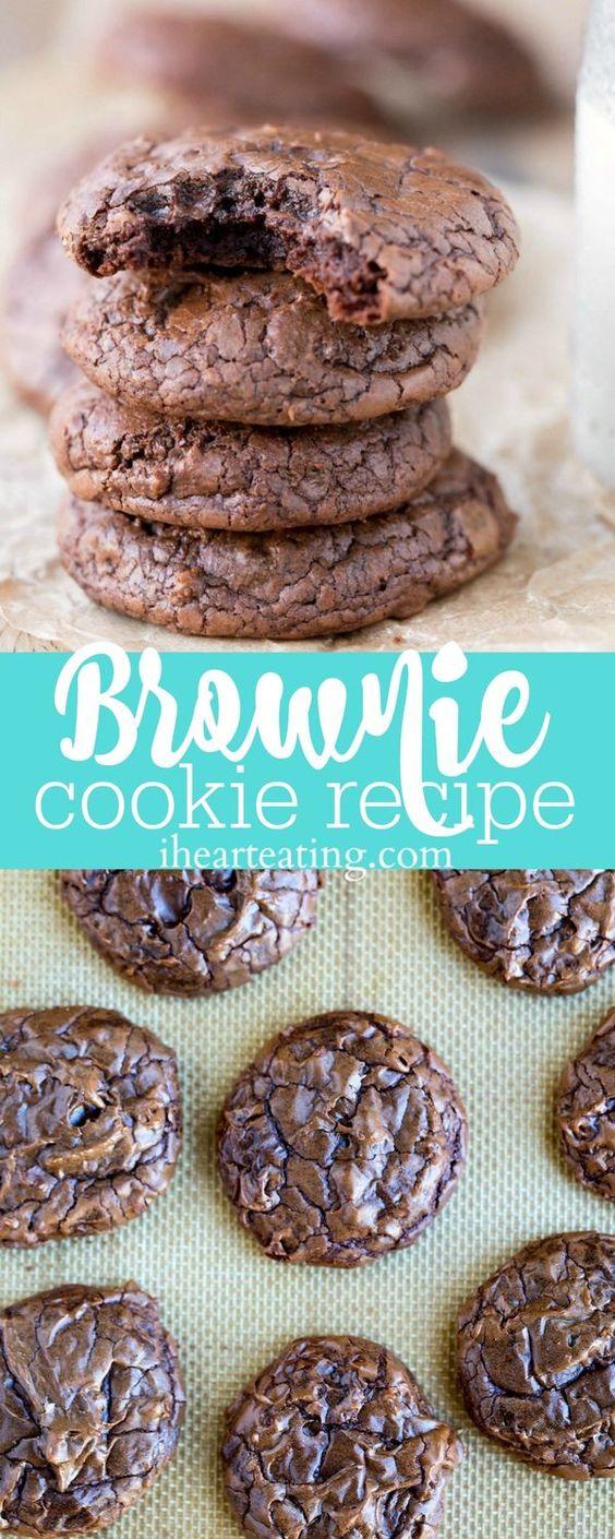 Brownie Cookie Recipe #brownie #brownierecipes #cookie #cookierecipes #cake #cakerecipes #dessert #dessertrecipes