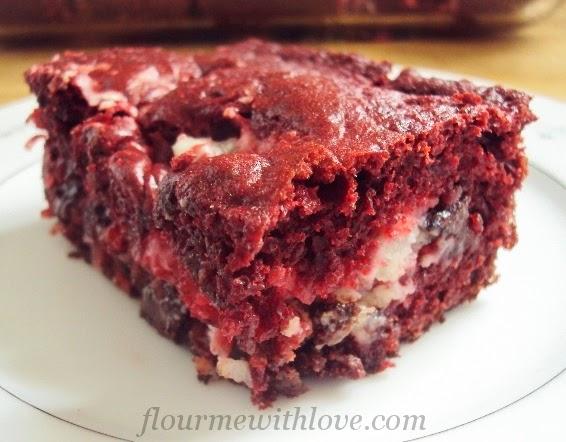 Red Velvet Earthquake Cake Flour Me With Love