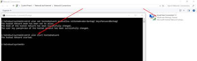 Cara sharing wifi tanpa software dengan CMD (command prompt)