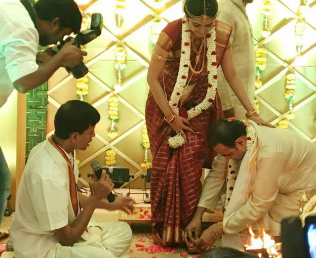 Tamil Director Vikram Kumar Wedding Photos