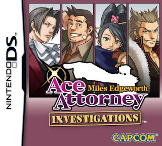 Ace Attorney Investigations: Miles Edgeworth, NDS, Mega, Mediafire