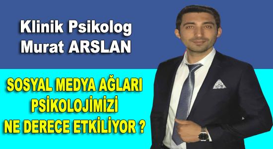YAZARLAR, Klinik Psikolog Murat Arslan'ın Kaleminden,