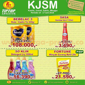 Katalog Promo TIPTOP SWALAYAN Weekend 14 - 17 Juni 2018