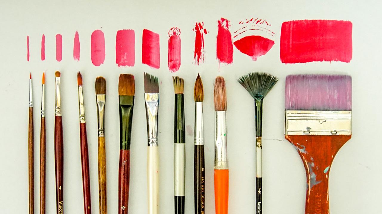Boya Fırçaları çeşitleri Ve Kullanımları Türk El Sanatları