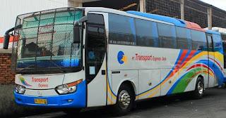 Harga Tiket Bus Transport Express Jurusan Padang, Lubuk Basung, Pariaman