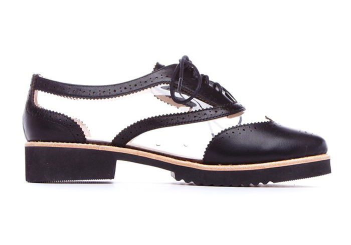 Messeca Max Clear Oxfords (70% off!)