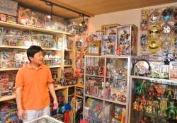生駒屋玩具博物館おもちゃ2000点展示浅原利一さん
