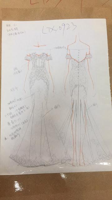 台灣婚紗品牌:ALINA手工婚紗